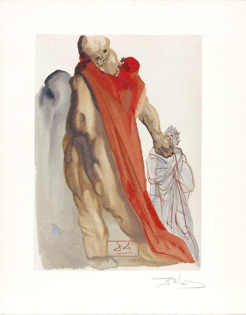 Virgil's Admonishment by Salvador Dali
