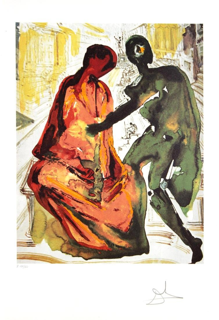 Salvador Dali - Anthony and Cleopatra