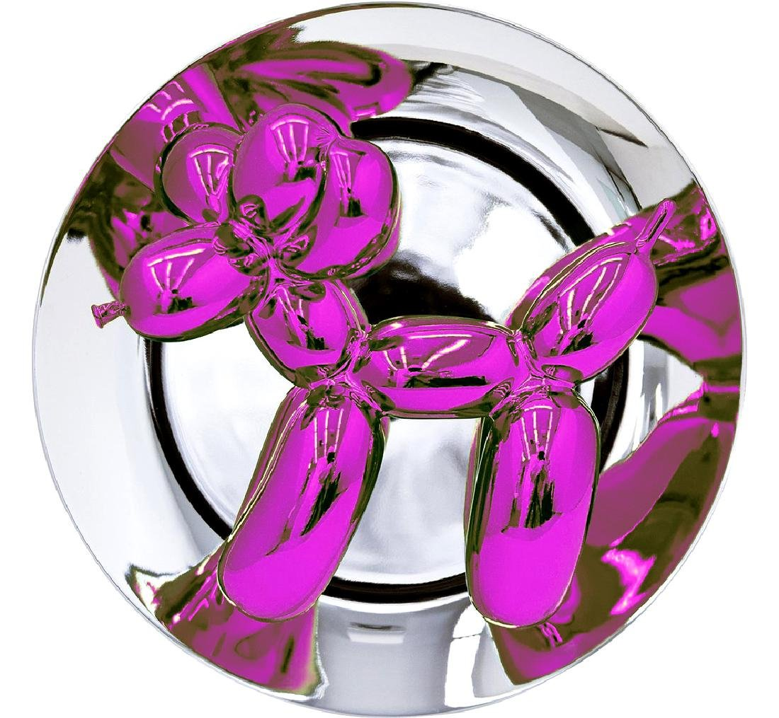 Jeff Koons - Balloon Dog (Magenta)