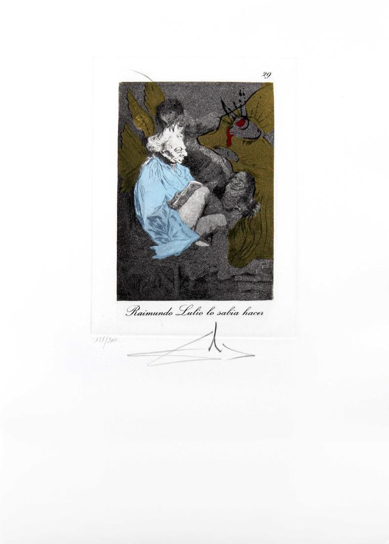 Raimundo Lulio lo sabia hacer by Salvador Dali