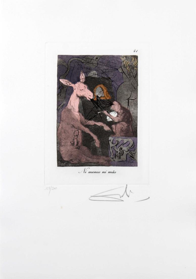 Ni menos ni mas by Salvador Dali