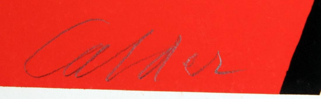 Alexander Calder - Red and Blue Swirl - 2