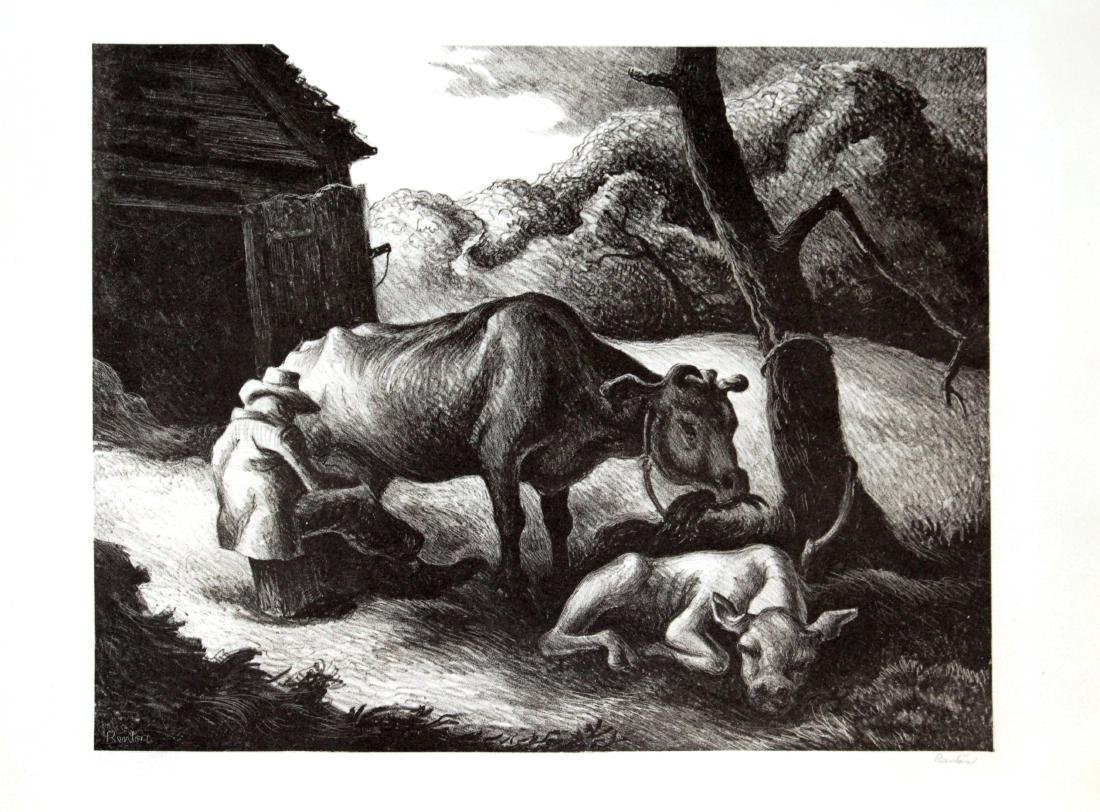 Thomas Hart Benton - White Calf