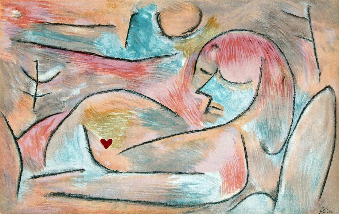 Sommeil D'Hiver by Paul Klee