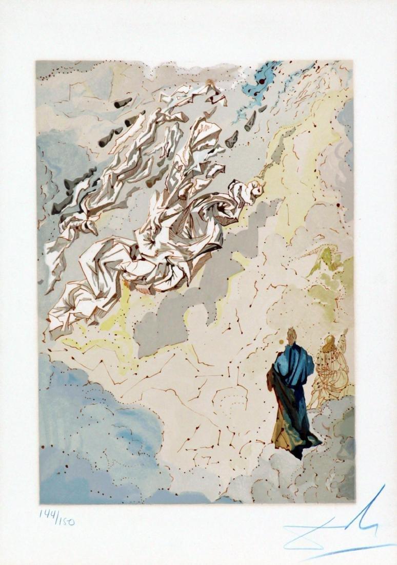 Salvador Dali - The Sixth Sphere/Heaven Of Jupiter