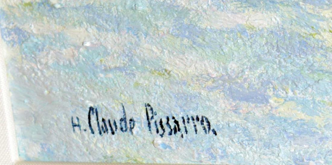 H. Claude Pissarro - La Pont-Viel Arnouville sur Saone - 2