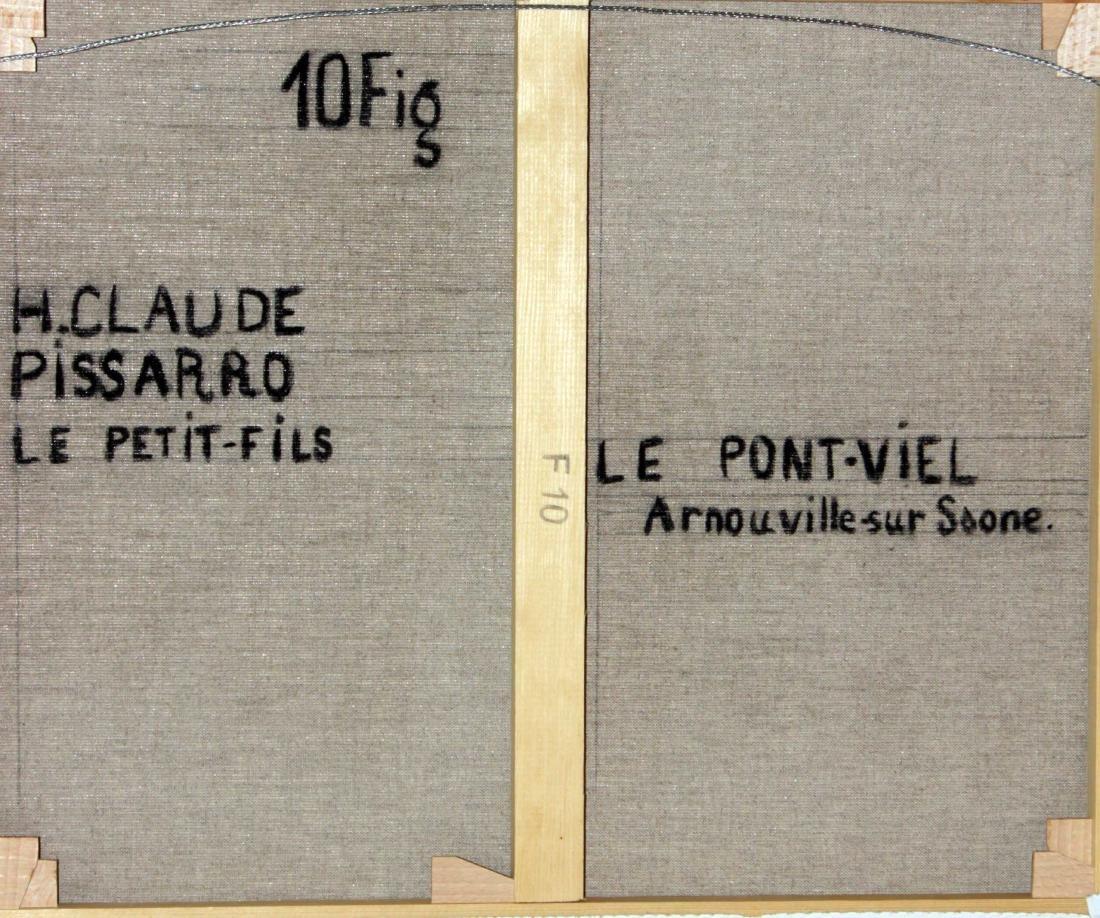 H. Claude Pissarro - La Pont-Viel Arnouville sur Saone - 3