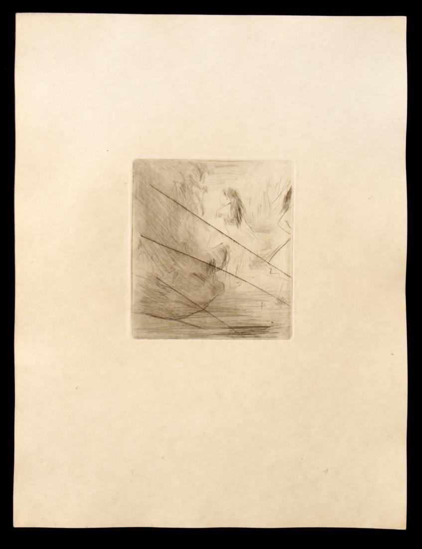 Edgar Degas - Untitled Cancelled Plate