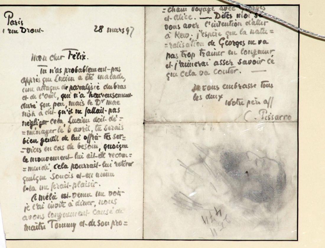 Camille Pissarro - Untitled Sketches - 2