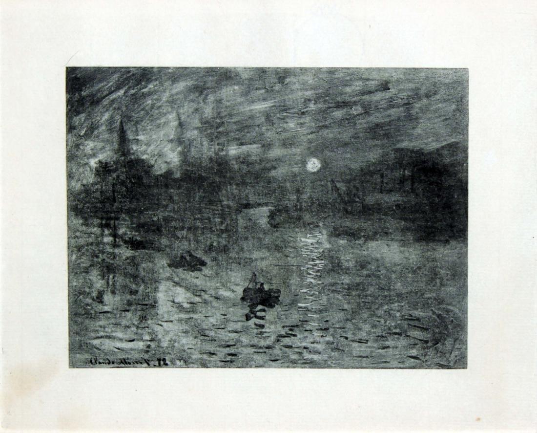 Claude monet (After) - Soleil Levant