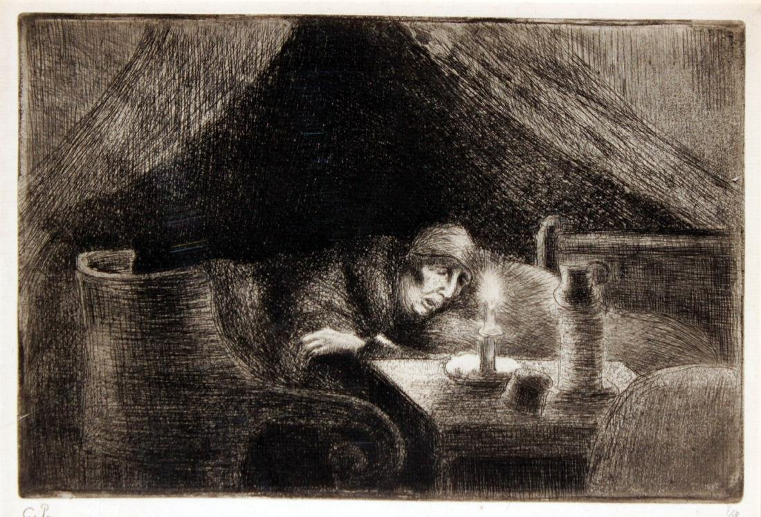 Camille Pissarro - Grandmother