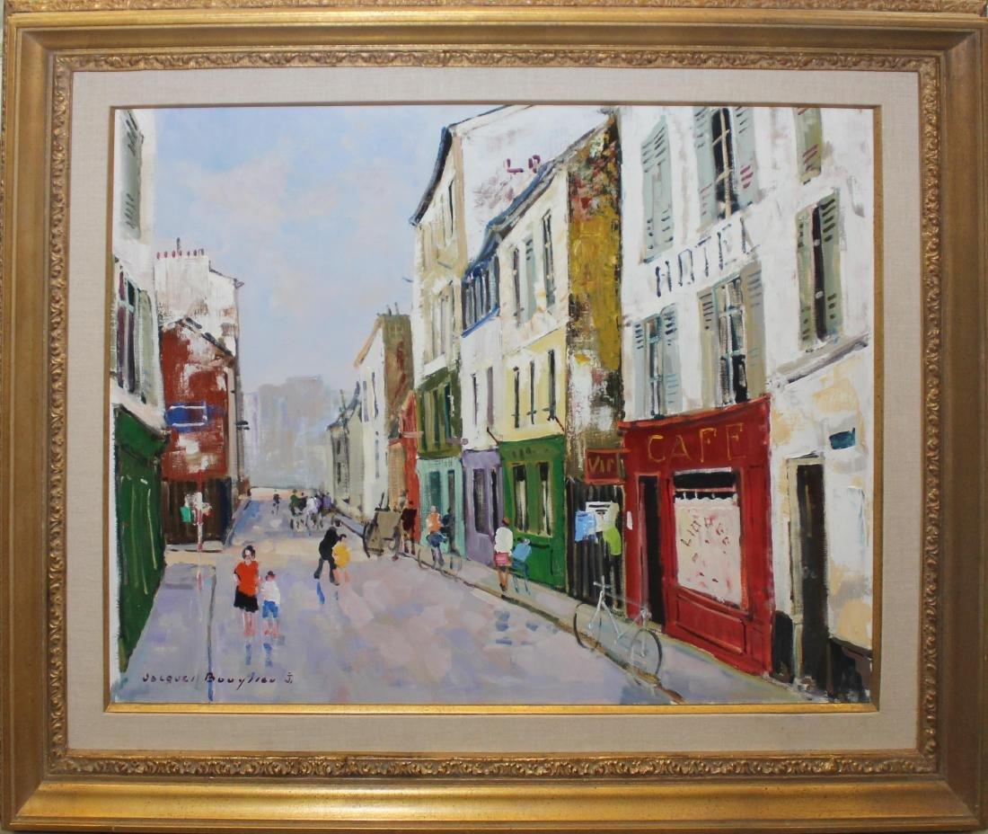 """Jacques Bouyssou """"Vieille rue de Banlieue"""""""