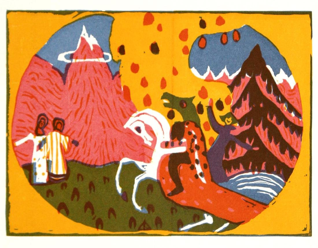 Wassily Kandinsky - Berge (Mountains)