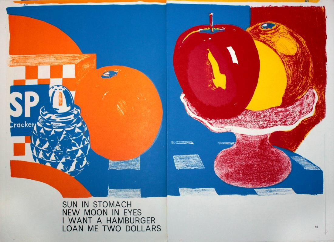 "Tom Wesselmann, ""One Cent Life"""