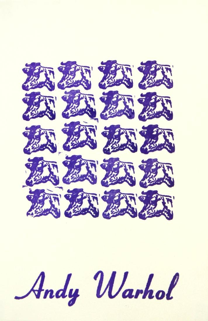 Andy Warhol  - Cows