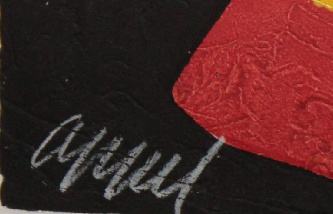 "Karel Appel ""Clown d' Amsterdam"" Orig Woodcut Hand Sig. - 2"