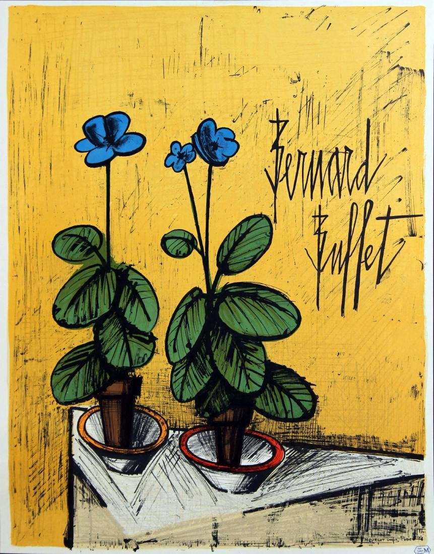 Bernard Buffet - Flowers