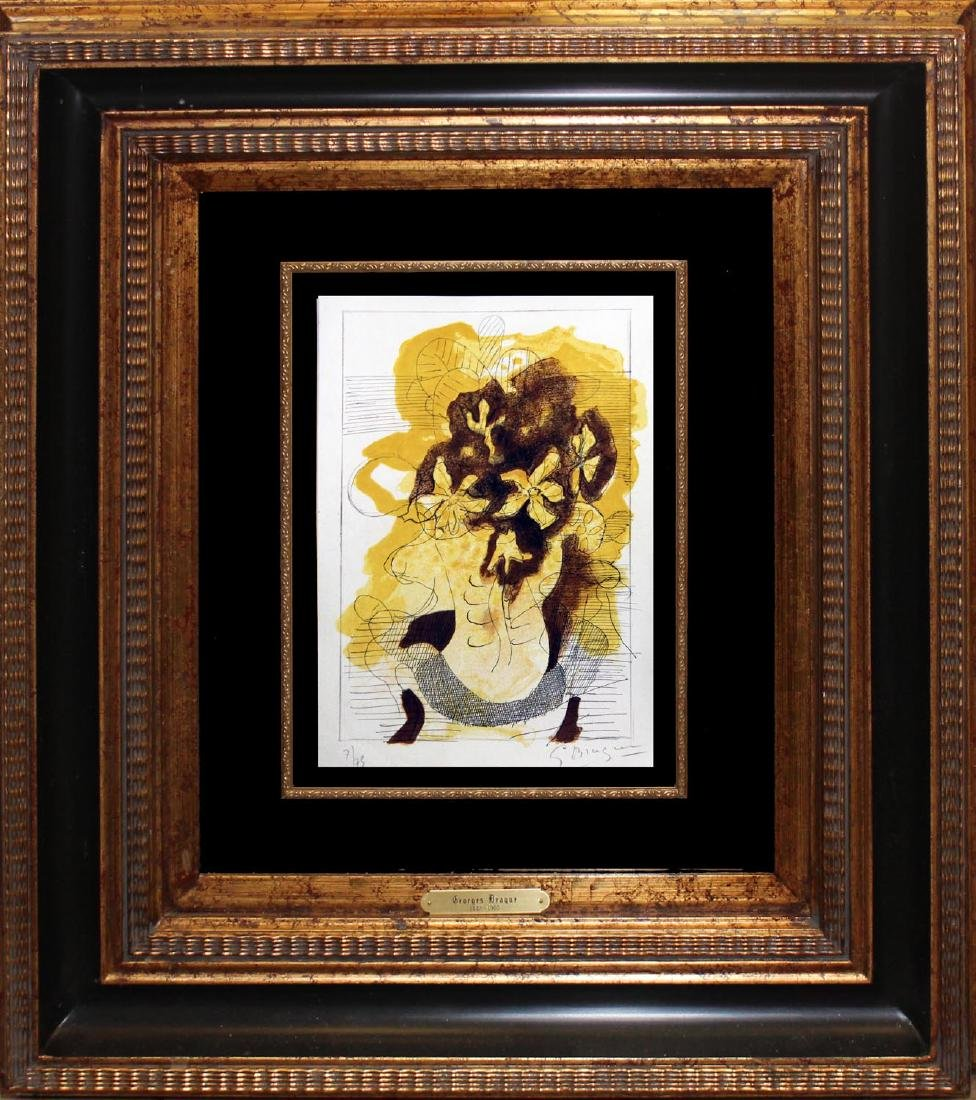 "Georges Braque (After) ""Les Jonquilles"" Hand signed & #"