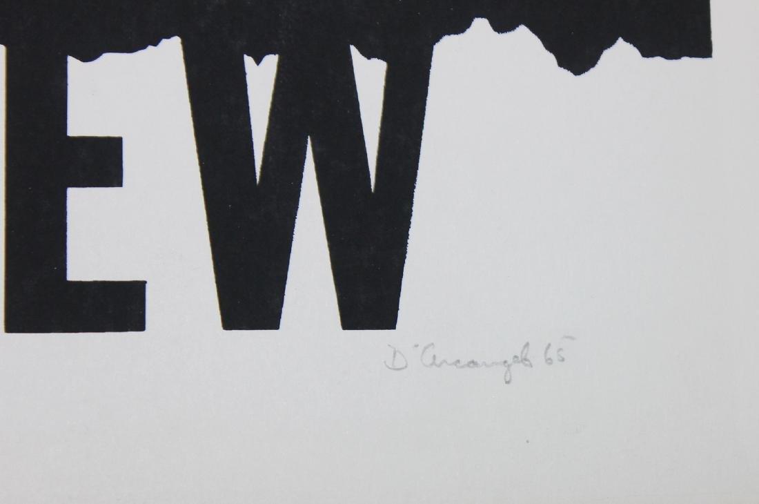 """Allan D'Arcangelo """"Paris Review"""" - 2"""