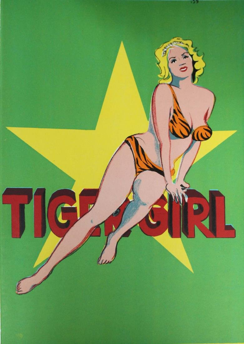 "Mel Ramos ""Tiger Girl"""