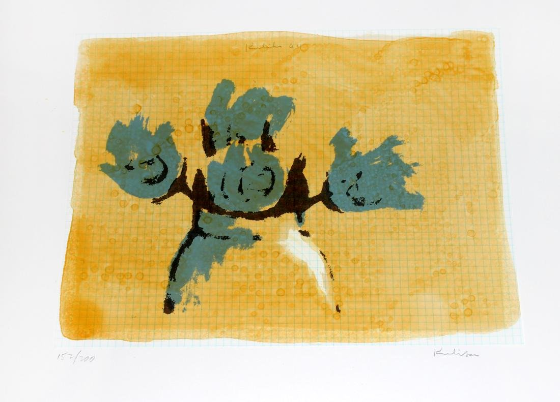 "Robert Kulicke, one plate from ""New York Ten"""