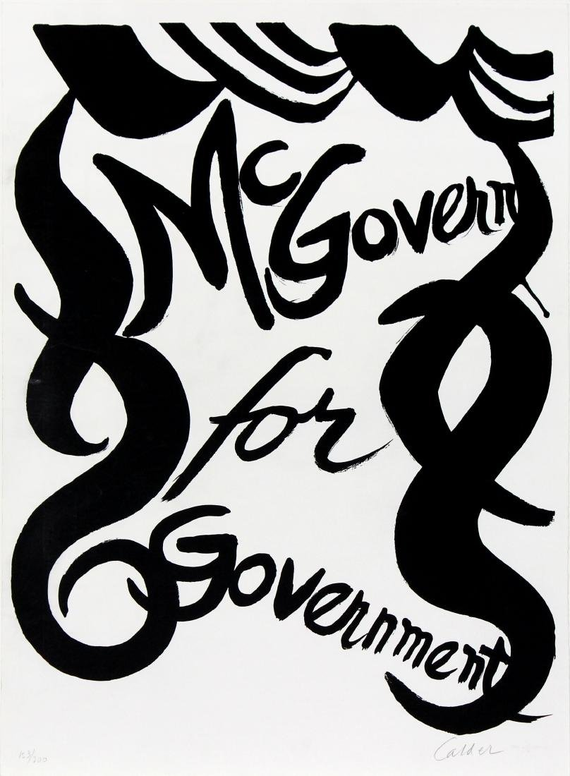 McGovern for Government by Alexander Calder
