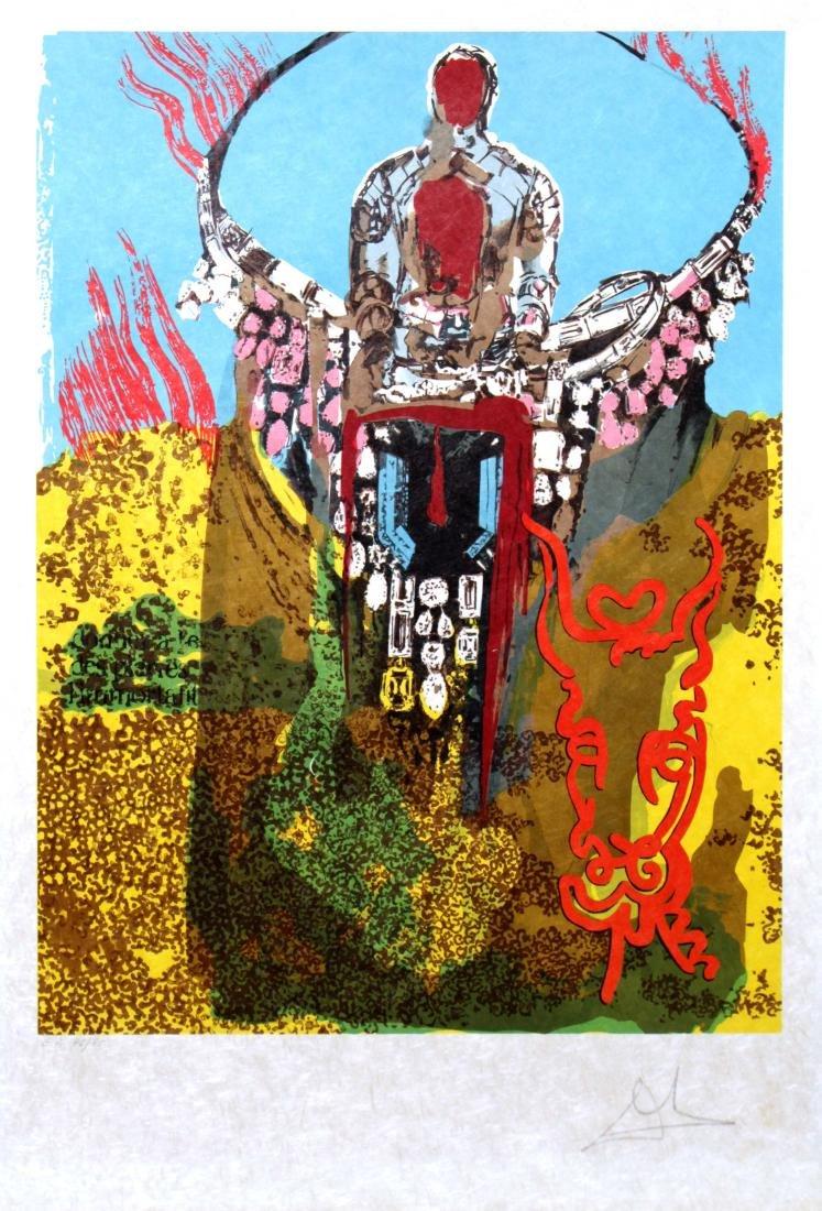 Salvador Dali - The Golden Calf