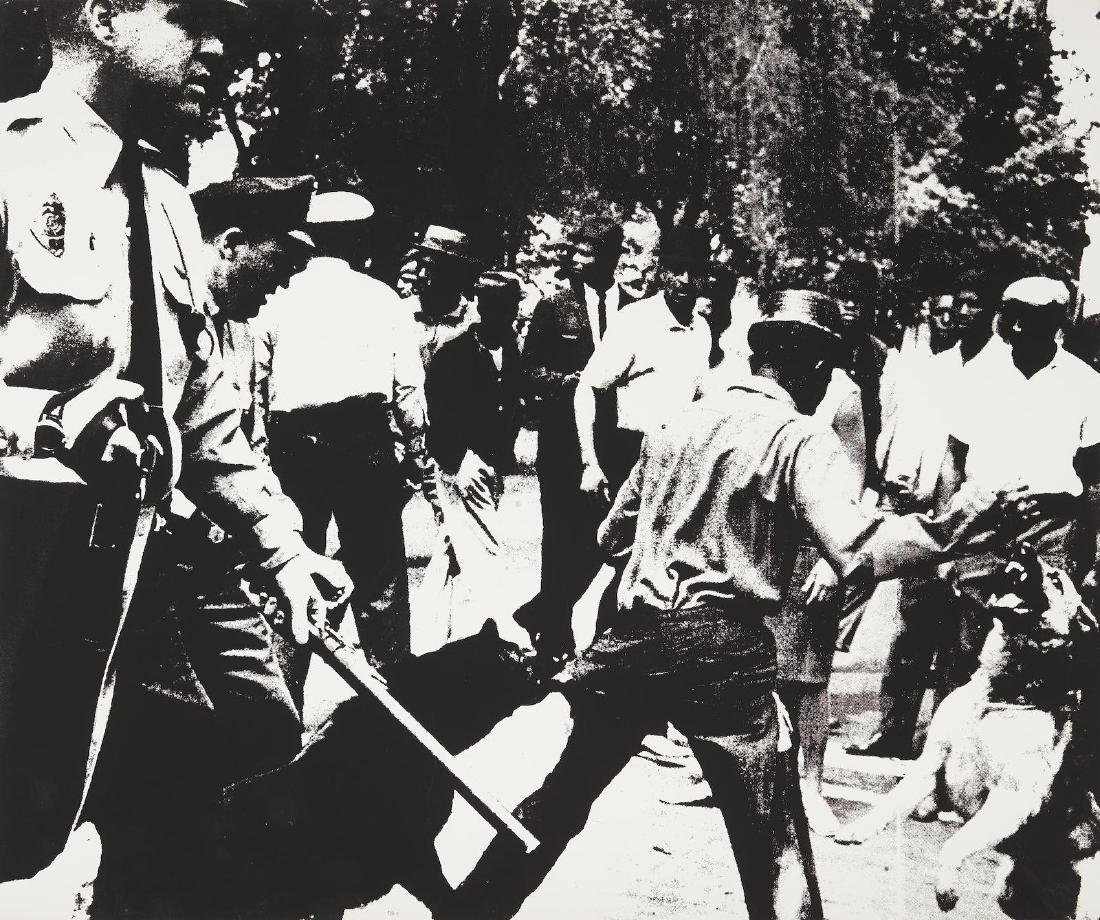 Andy Warhol - Birmingham Race Riot
