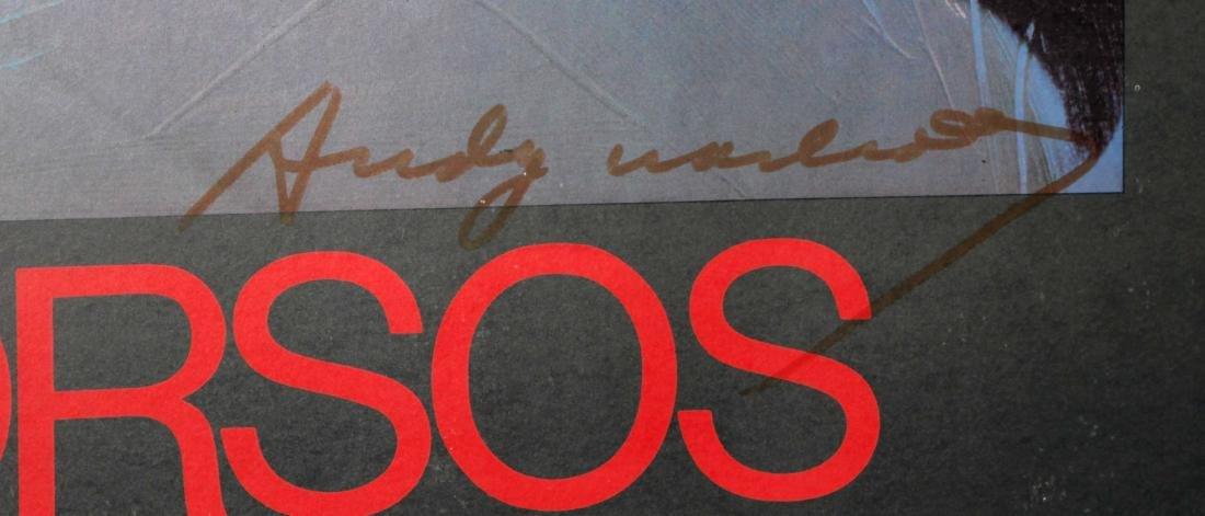 Andy Warhol - Torsos Hand Signed Poster - 2