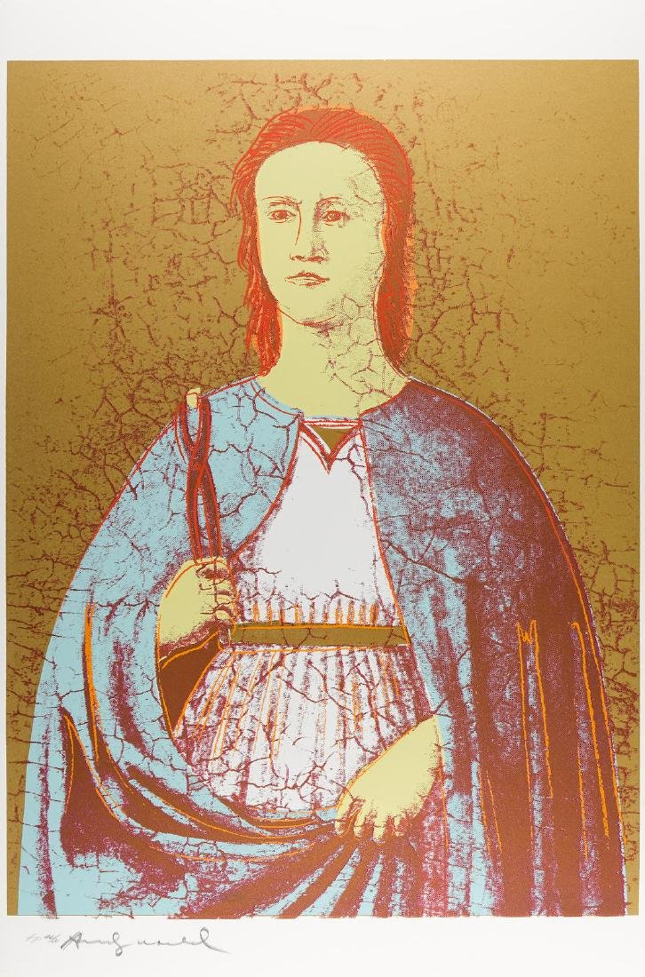Andy Warhol - Saint Apollonia