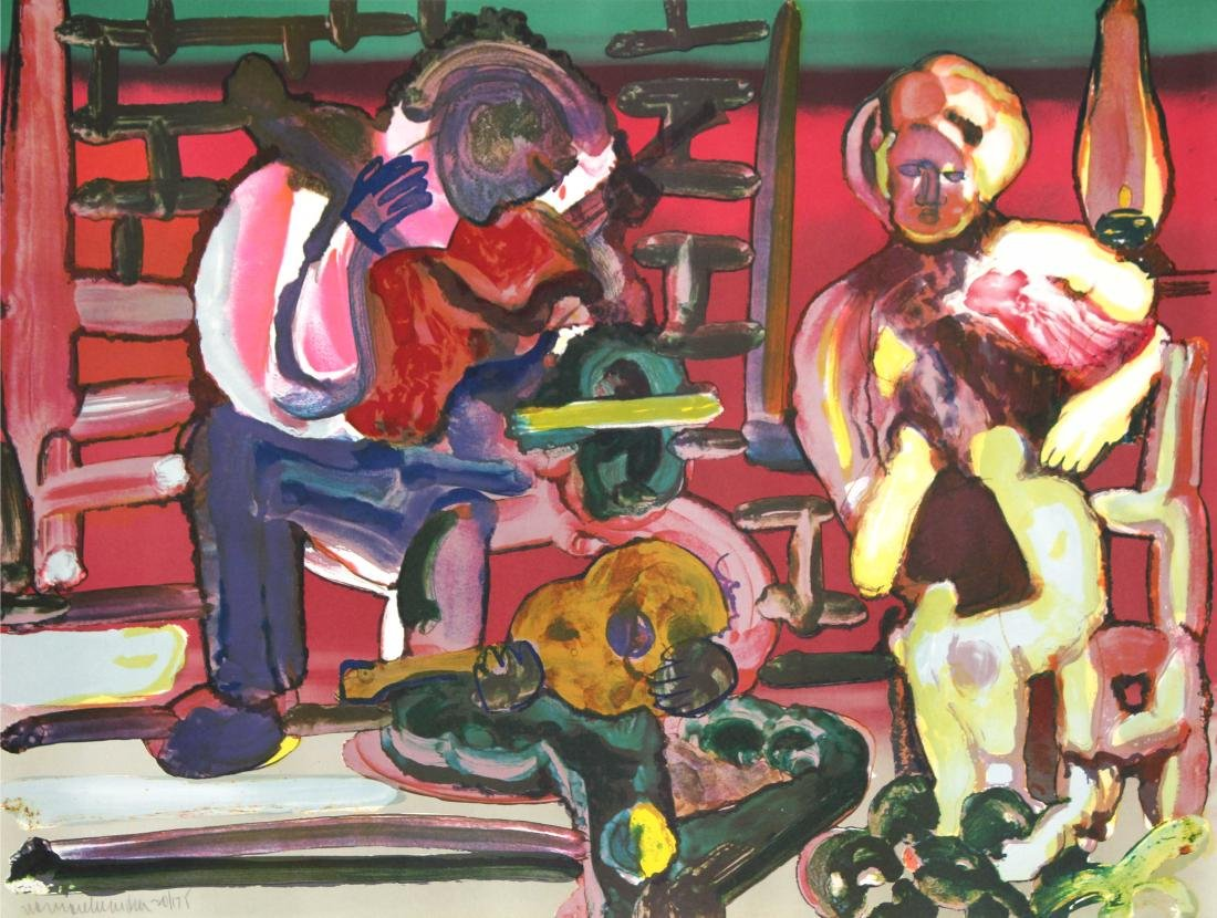 Romare Bearden - Louisiana Serenade