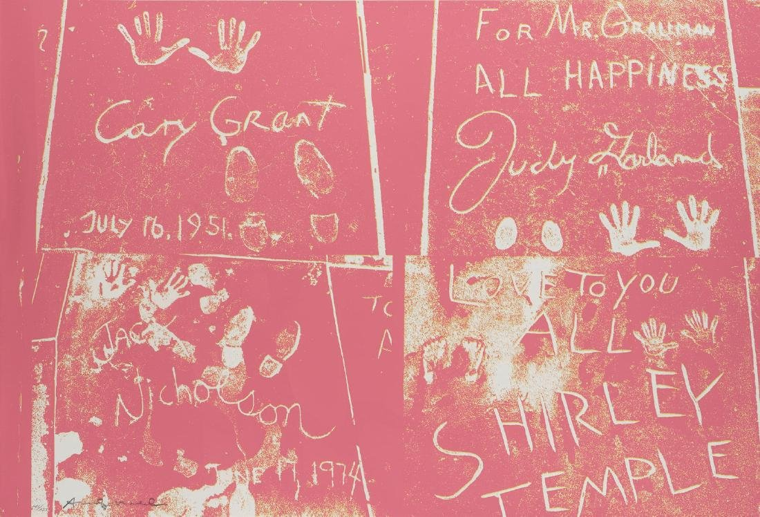 """Andy Warhol - Sidewalk from """"Eight by Eight"""""""