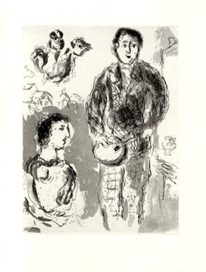 Marc Chagall - Le peintre et son modele