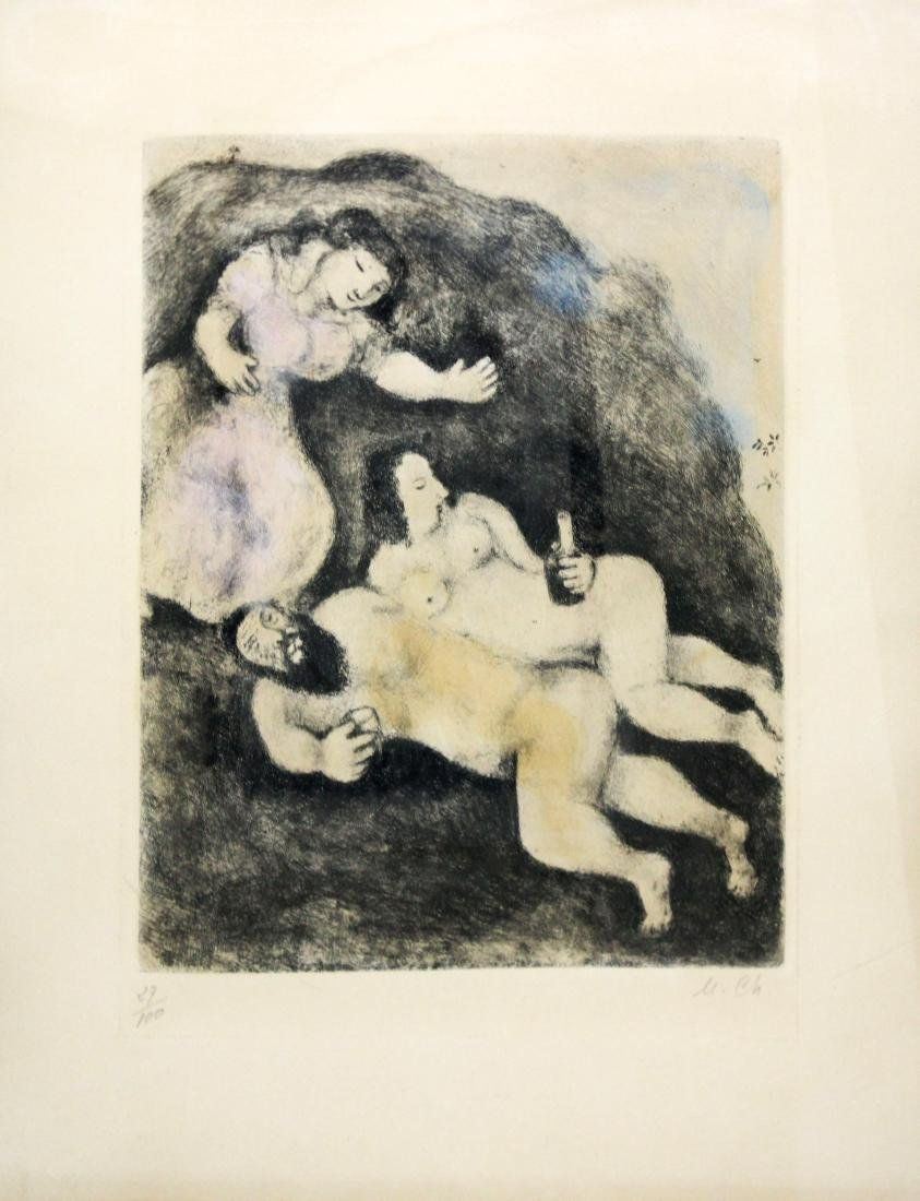 Marc Chagall - Lot and his Daughters
