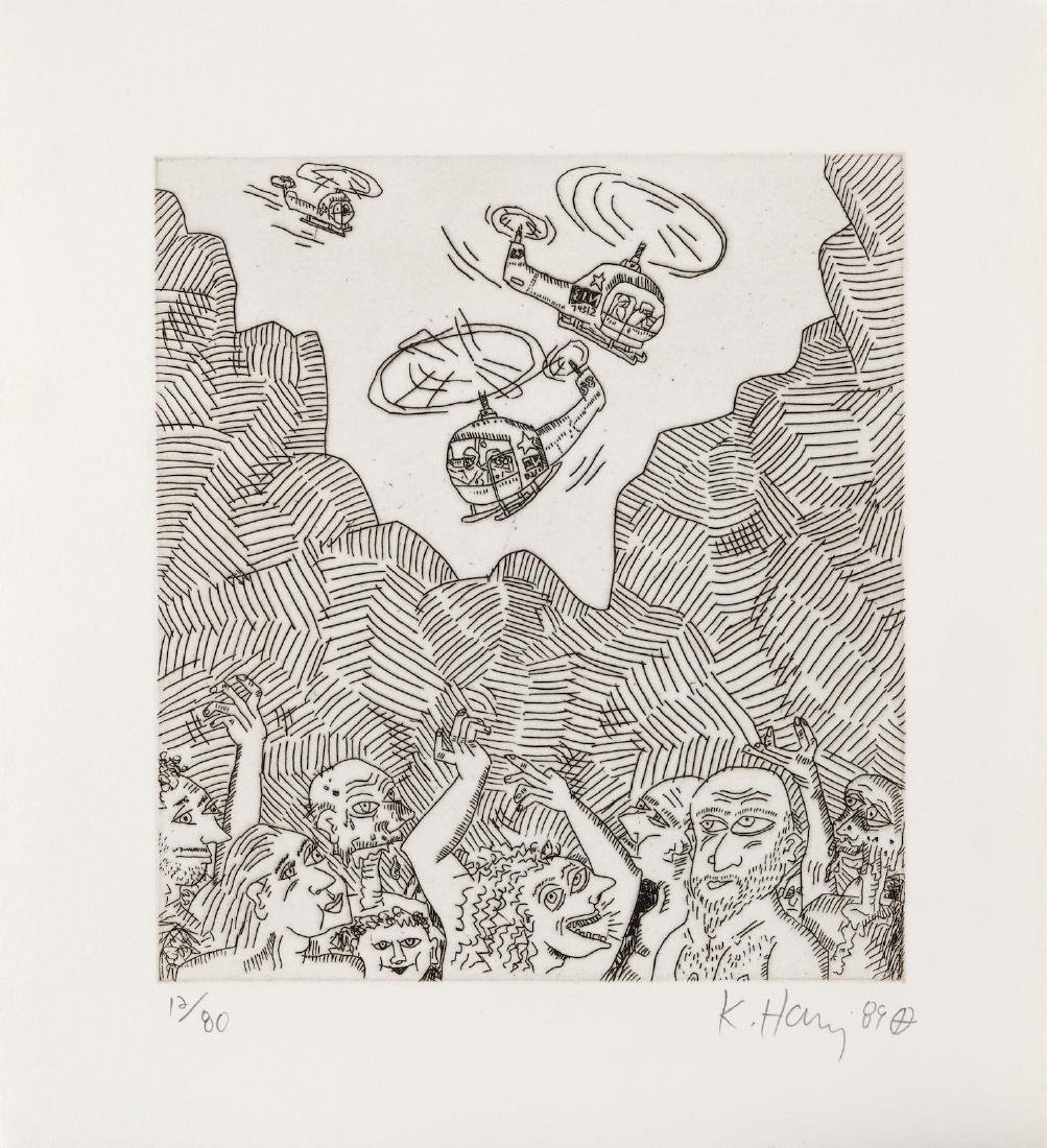 Keith Haring - The Vallley 12 from The Valley Portfolio