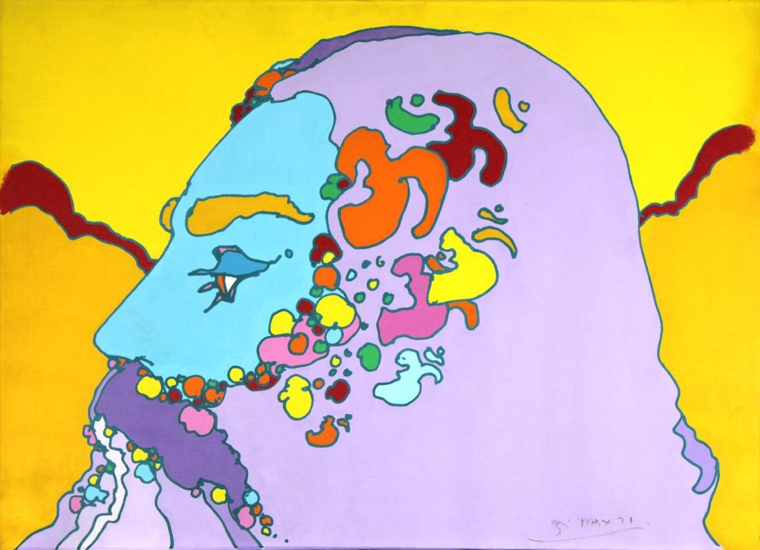 Peter Max - Rare Original Painting