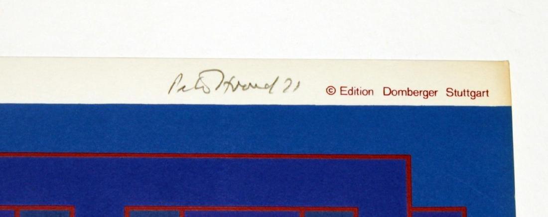 "Peter Stroud - November from ""Domberger Siebdruck - 2"