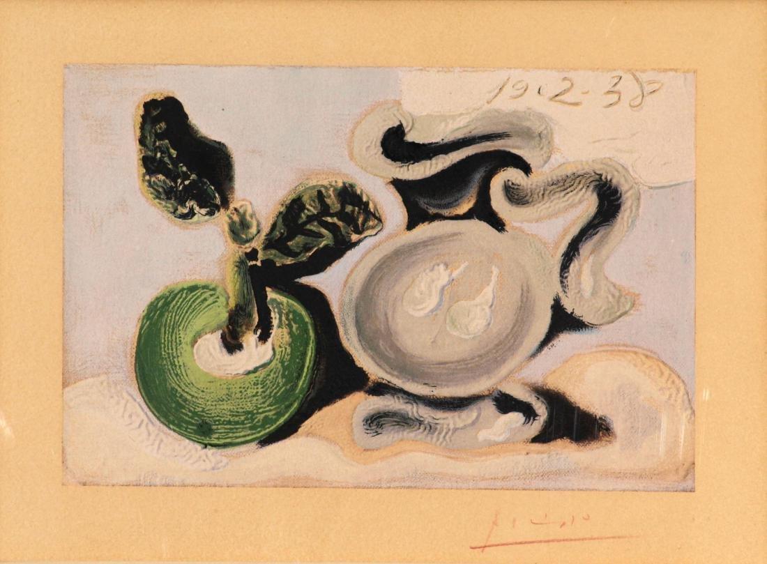 Picasso - Le Vase et le Fleur