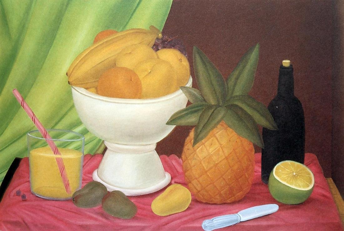 Fernando Botero (after) - Still Life