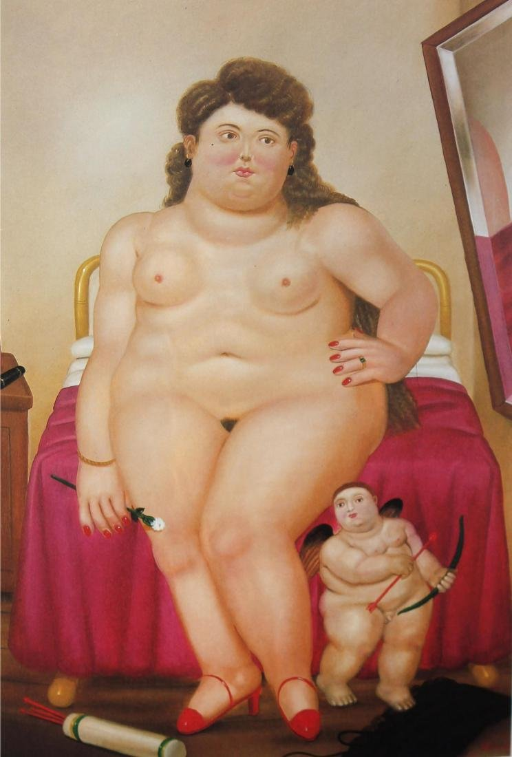 Fernando Botero (after) - Venus