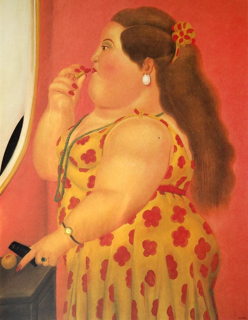 Fernando Botero (after) - Le Toilette