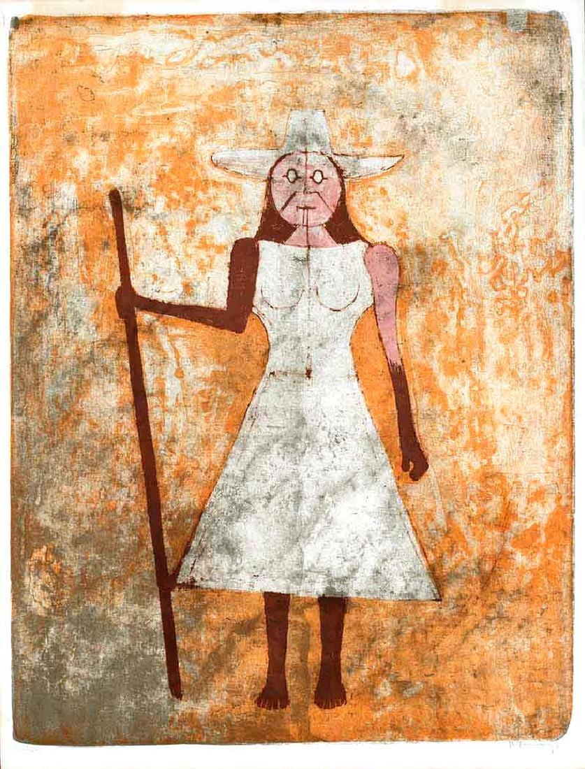 Rufino Tamayo - La Payasenne