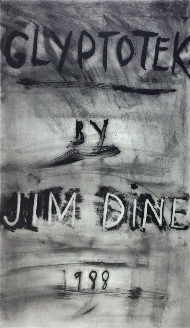 Jim Dine - Glyptotek Cover