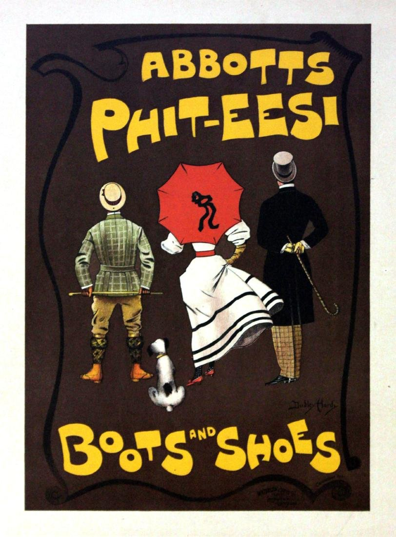 Dudley Hardy - Abbotts Phit Eesi Vintage Poster