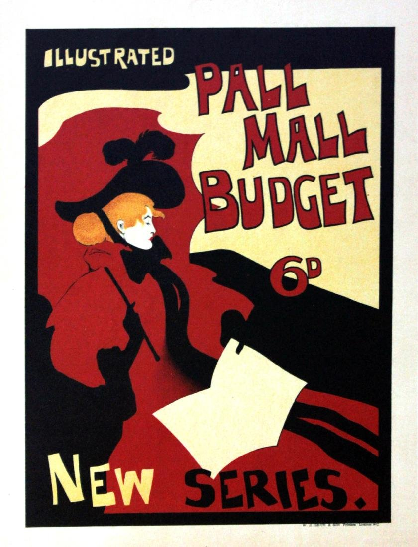 Maurice Greiffenhage - Pall Mall Budget Vintage Poster