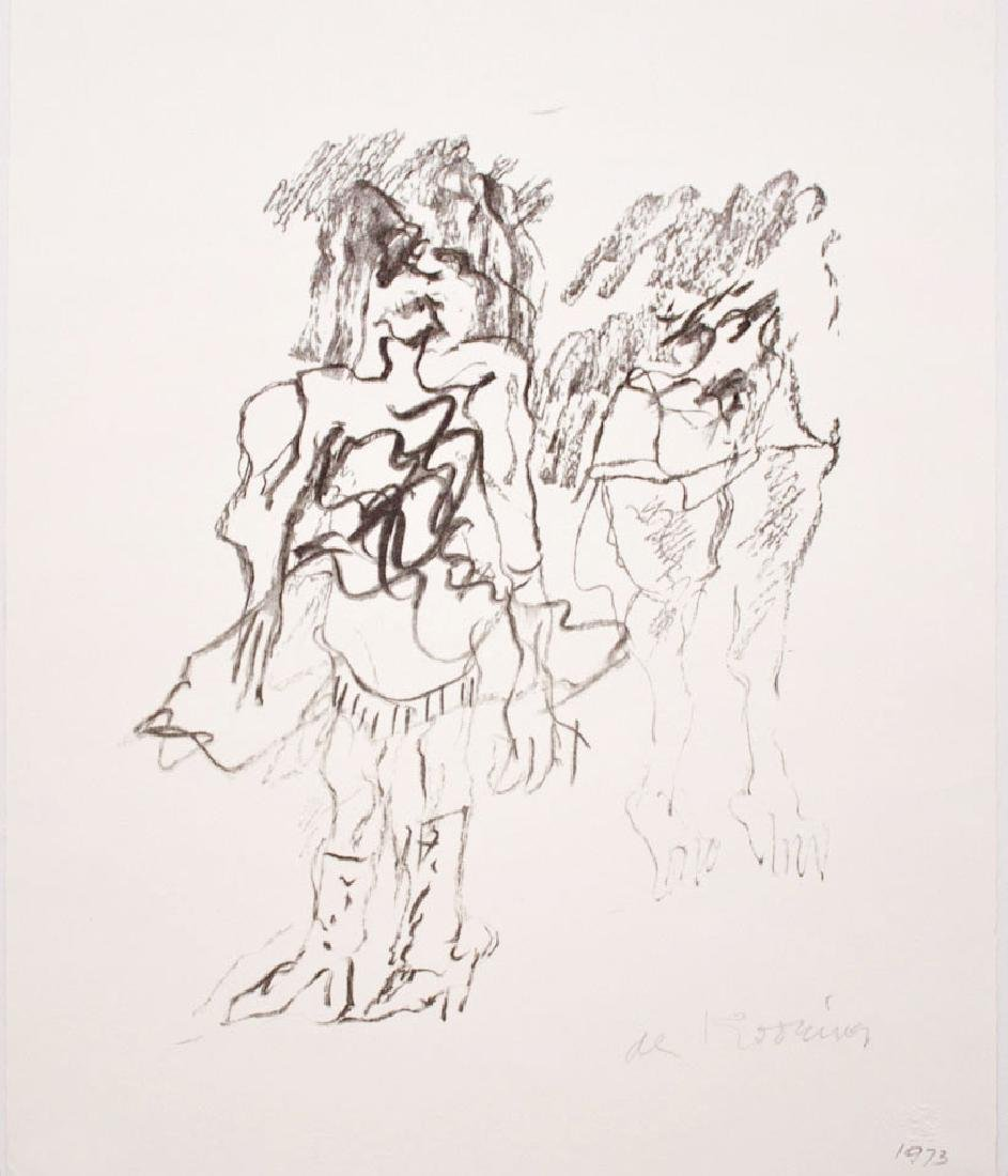 Willem De Kooning - Two Women