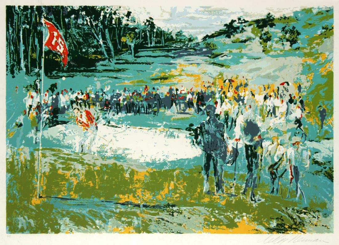 LeRoy Neiman - Tournament Golf