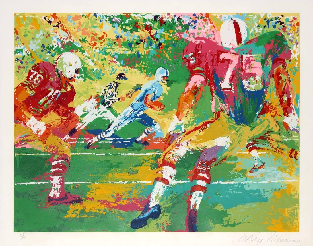LeRoy Neiman - The Scramble