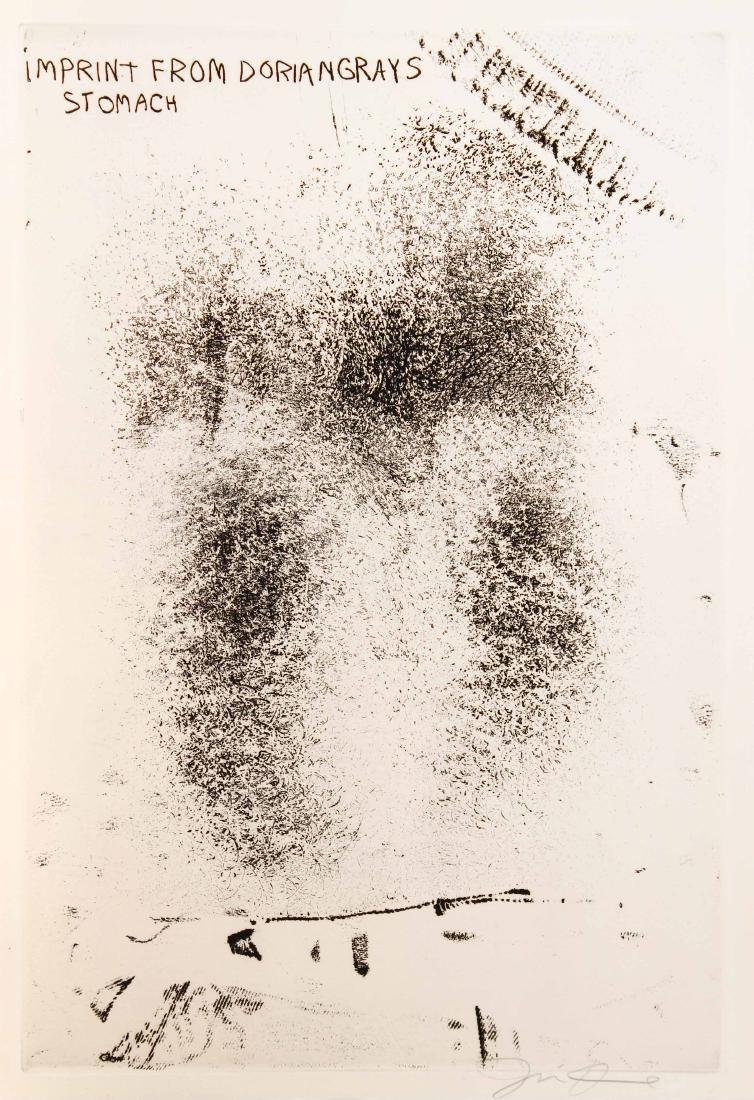 Jim Dine - Imprint from Drian Gray's Stomach