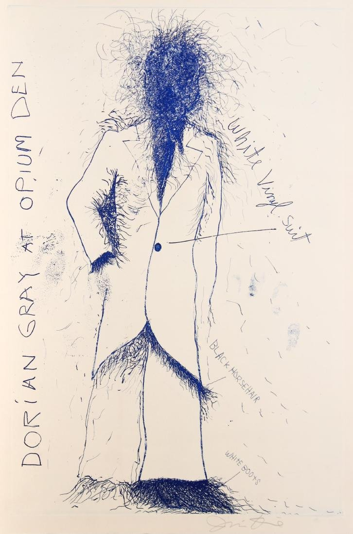 Jim Dine - Dorian Gray at Opium Den